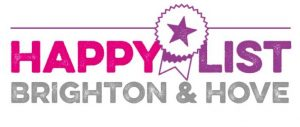 Fash Ghiaci nominated HappyList Brighton & Hove