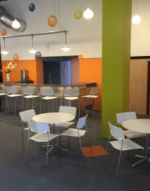 Reception Area/Cafe at The Circle Arts Centre